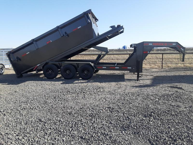 2021 MAXXD 16' Triple Axle Roll-Off Dump Trailer