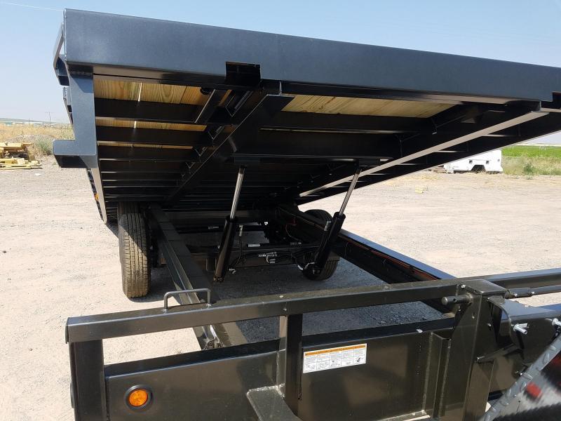 2022 Maxxd Trailers 22' x 14K Deckover Power Tilt Equipment Trailer
