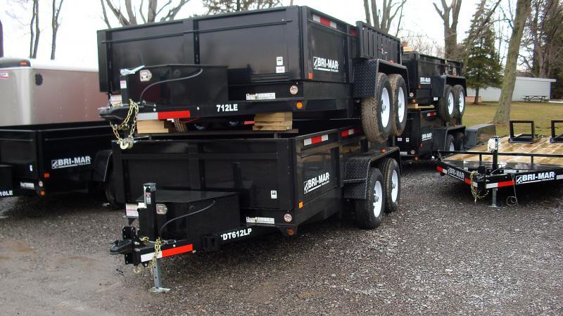 2019 Bri-Mar DT612LPLE12 Dump Trailer