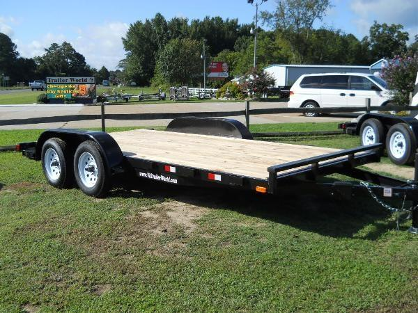 "2021 American 16' CH16W* 6'10""X16 REMOVABLE FENDERS WOOD DECK"