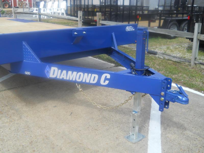 2020 Diamond C Trailers GDD 252L22X102 TRAILER Dovetail