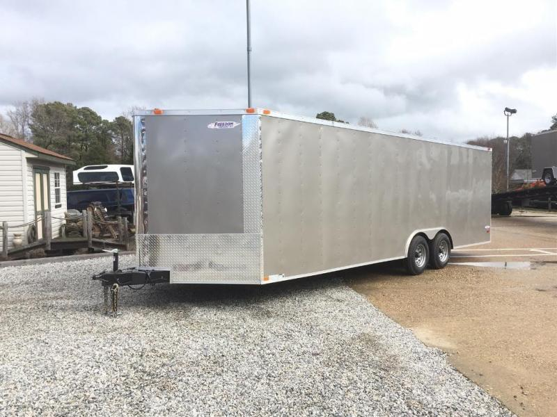 "2021 Freedom Trailers 8.5x24 10K*"" CAR HAULER"
