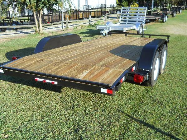 """2021 American 18' CH18W* 6'10"""" x 18' WOOD DECK REMOVABLE FENDERS"""