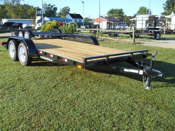 "2021 American 18' CH18W* 6'10"" x 18' WOOD DECK REMOVABLE FENDERS"