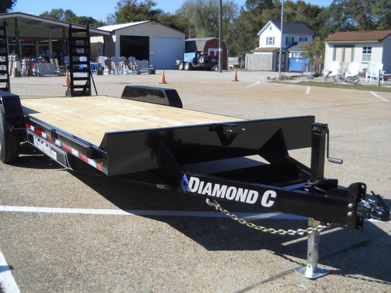 2020 Diamond C Trailers EQT 207L20X82 Equipment Trailer