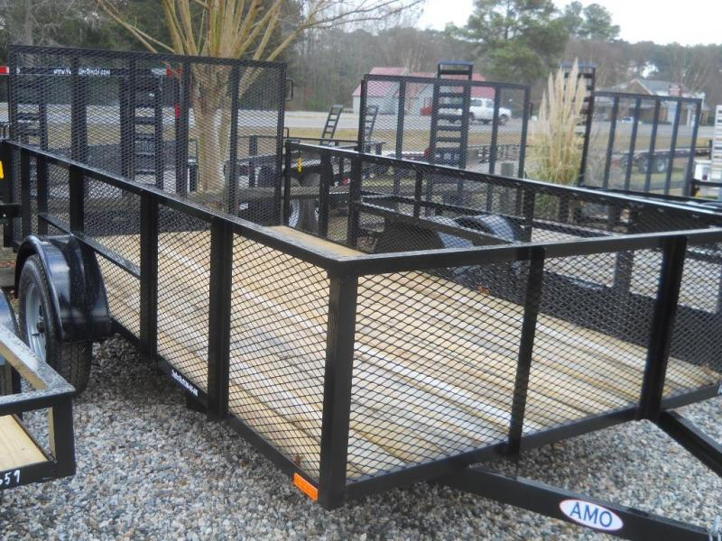 "2021 American 6X12 HI SIDE 2990 GVWR 2"" BALL 4' PINLESS TUBE GATE SYSTEM"