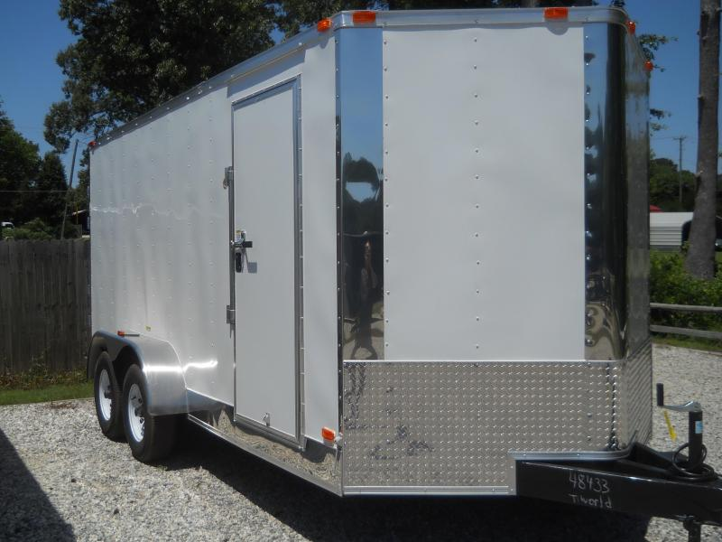 2021 Freedom Trailers 7x16 TA 10K Contractor Edition