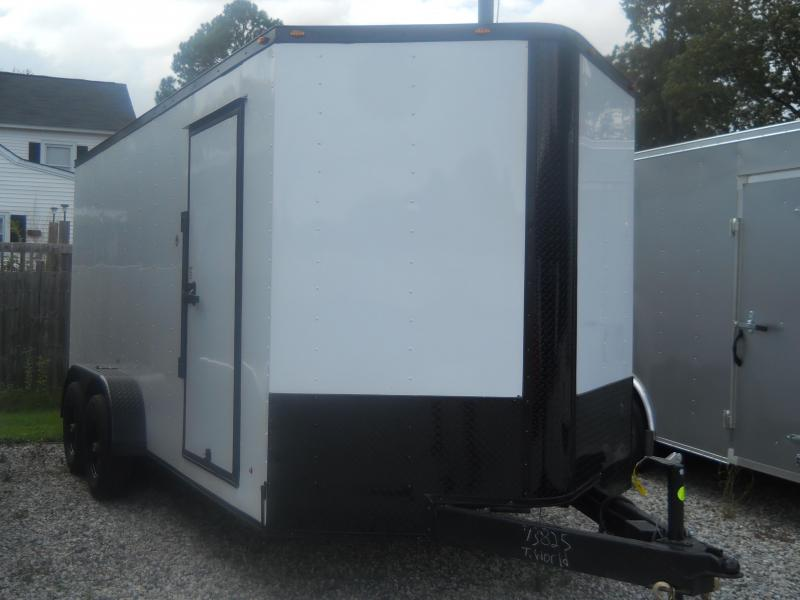 2022 Freedom Trailers 7x16 TA 10K Contractor Edition BLACK OUT
