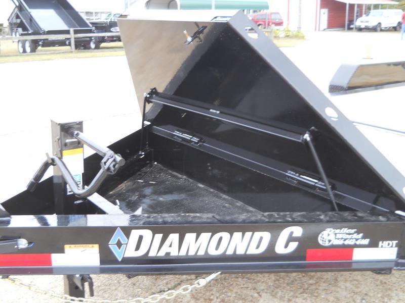 2020 Diamond C HDT207L20X82 TILT TRAILER Silver