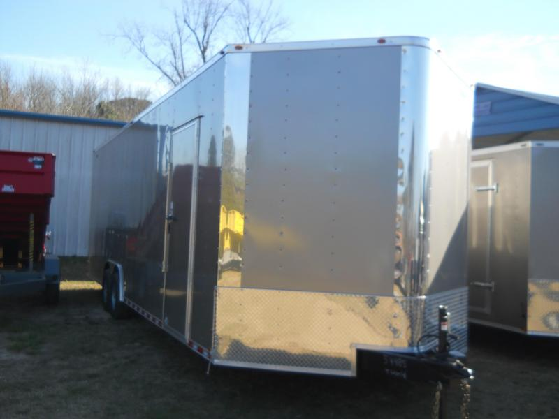 2021 Freedom Trailers 8.5x28TA3 10K CAR HAULER 7' INTERIOR BOGGY WHEELS