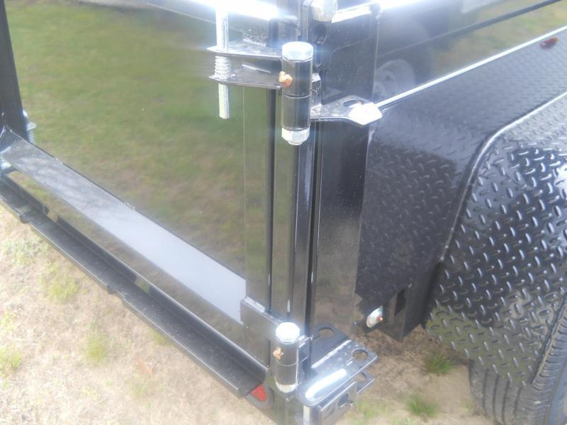 2021 Bri-Mar 6X10 DT610LP-LE-10 A* RAMPS COMBO GATE D RINGS