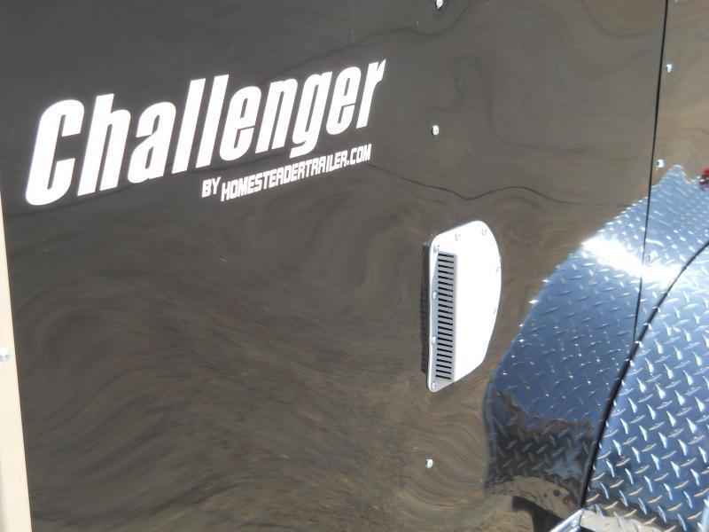 2021 Homesteader 7X14 CT Challenger* BLACK