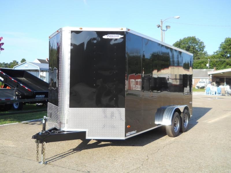 2020 Freedom Trailers 7x16 TA 10K Contractor Edition