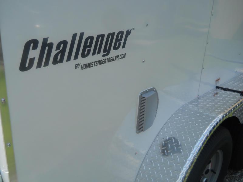 2021 Homesteader 7X12 CT Challenger* White
