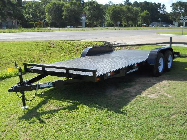 2021 American 18' CH18S* 6'10x18' steel deck  4 tie downs 5000 lb load