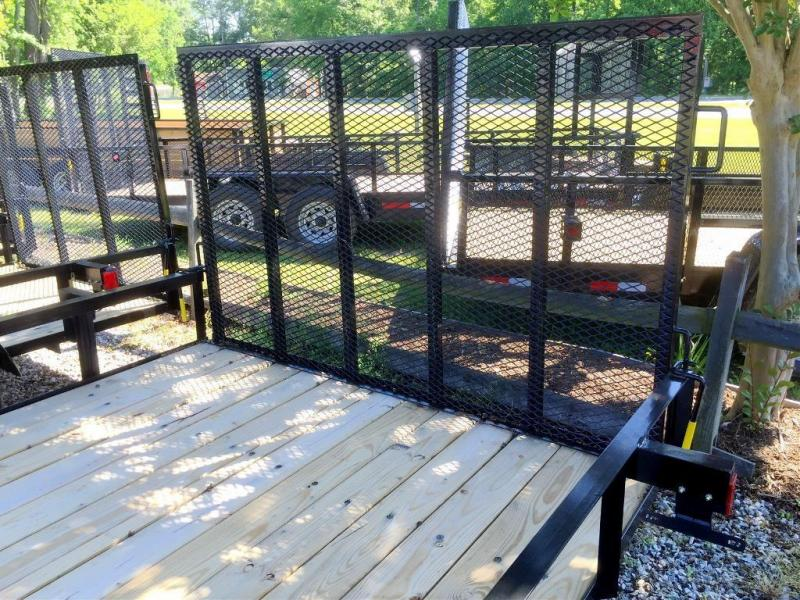 "2021 3610HD* 6'4""X 10' 2990 GVWR 2"" BALL 15"" WHEELS  TUBE GATE"