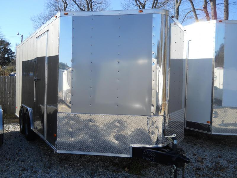 "2021 Freedom Trailers 8.5x16 7K*"" CAR HAULER"