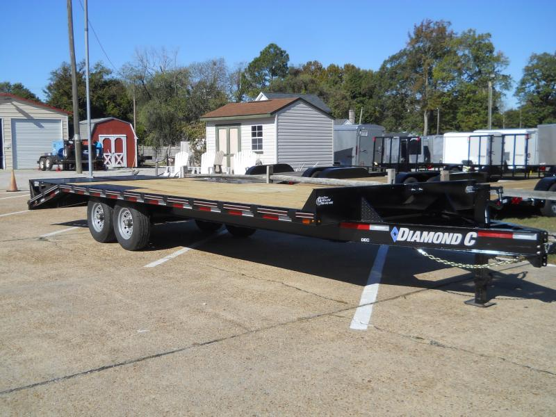 2020 Diamond C Trailers DEC207-L24X102 DECK-OVER 14K Equipment Trailer