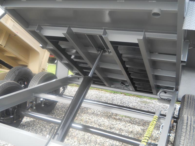 2022 Bri-Mar 6X10 DT610LP-LE-10 A* RAMPS COMBO GATE D RINGS