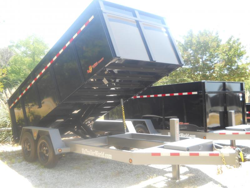 2021 B Wise 7X16 DLP16-17 17600 GVWR COMMERCIAL 11200 LB PAYLOAD