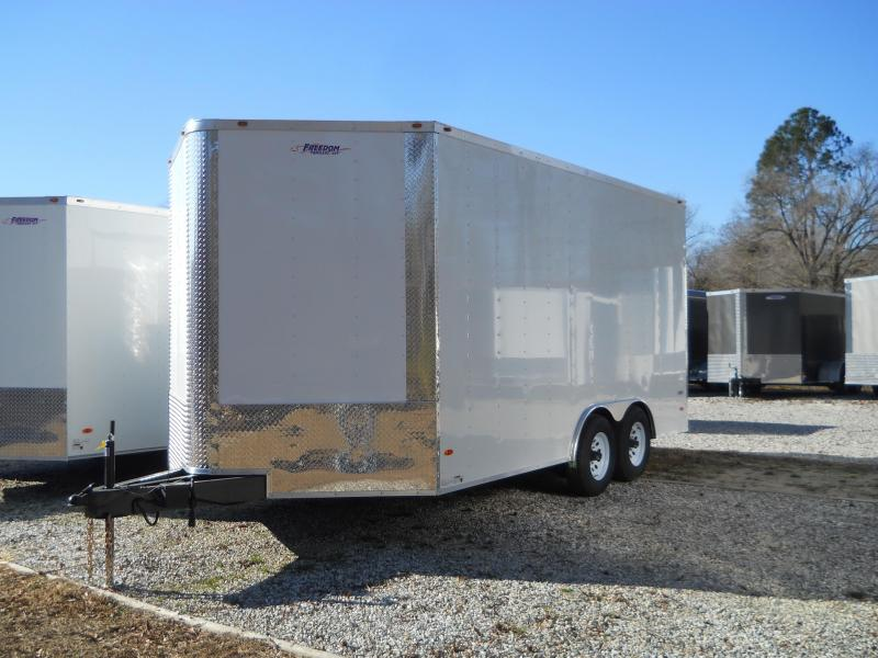 2021 Freedom Trailers 8.5X16 10K COMMERCIAL TRAILER