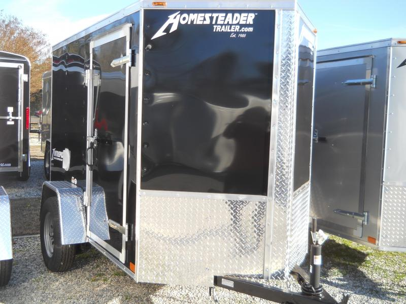 2021 Homesteader 5x8 Intrepid Black