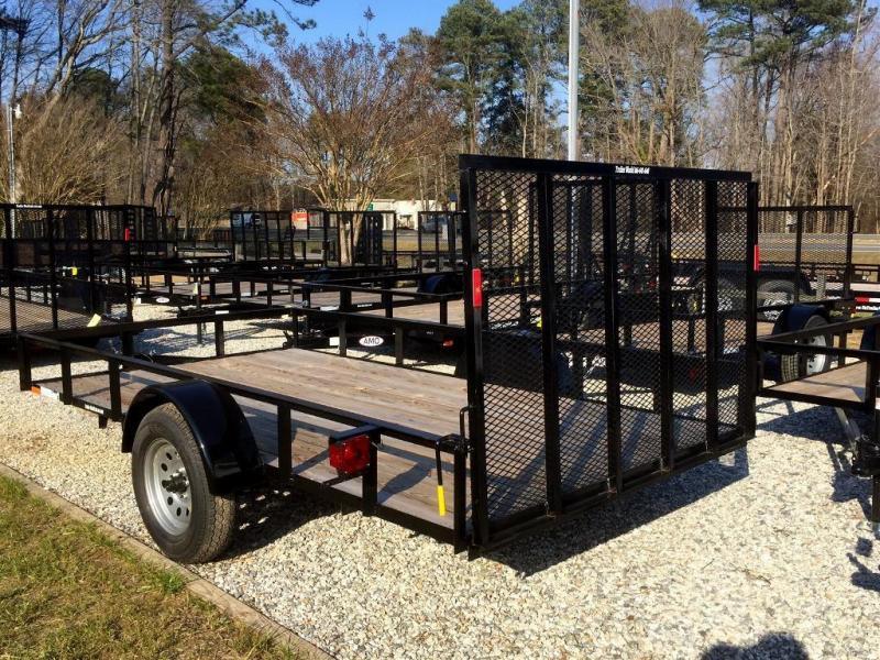 "2021 American 6X12 6'4""X12' 2990 GVWR  PINLESS GATE 15"" TIRES"