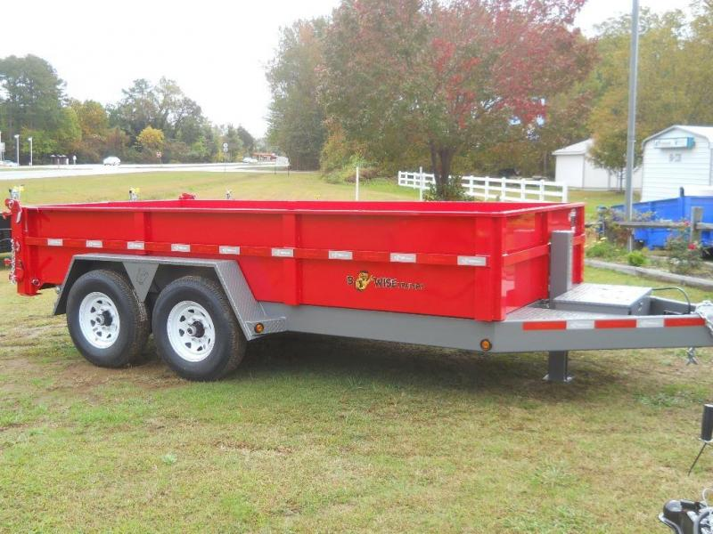 2021 B Wise 7X16 DLP16-15 15400 GVWR COMMERCIAL 11200 LB PAYLOAD