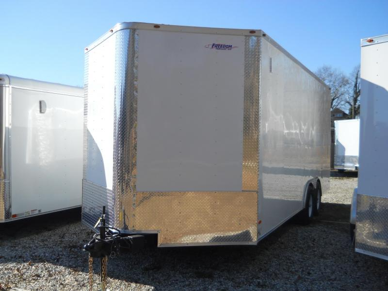 "2021 Freedom Trailers 8.5X20 10 K*"" CAR HAULER 12"" ADDED HEIGHT"