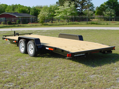 2020 Anderson Manufacturing Wooden Full Deck Car Hauler Car / Racing Trailer