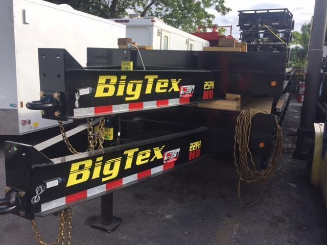 Big Tex Trailers 22PH 25 Equipment Trailer
