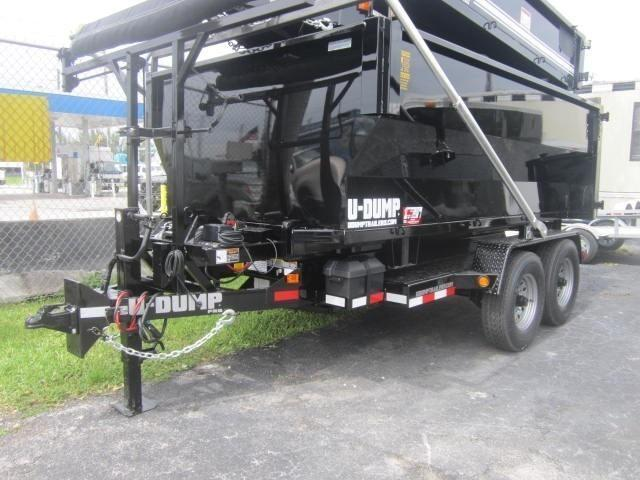 UDump 6 x 12 Roll Off Dump Trailer