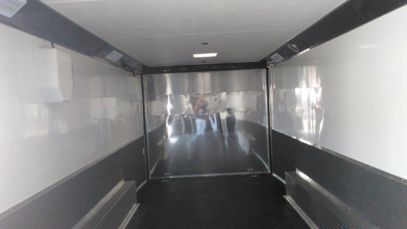 Covered Wagon Trailers 8.6X24TA3 Enclosed Car / Racing Trailer