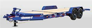 2020 Diamond Components Specialty Trailers HD207L20X82 Flatbed Trailer