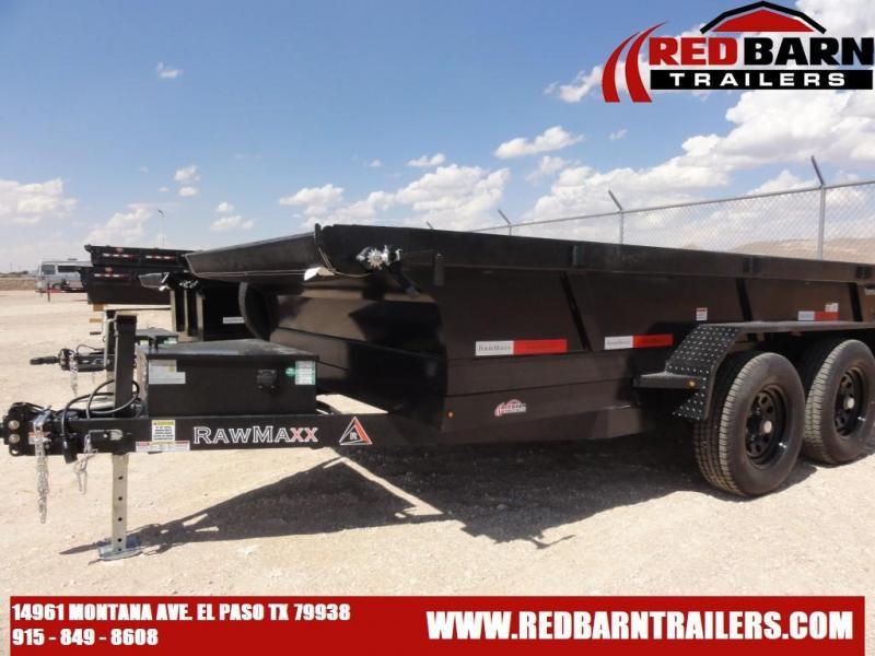 2021 RAWMAXX XTT12 10K - Dump Trailer
