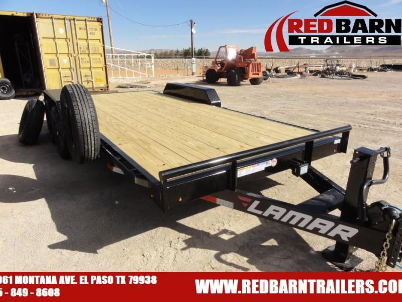 7 X 18 2021 Lamar Trailers H6831827 Equipment Trailer