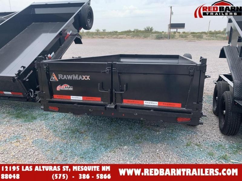 2022 7 x 14 RawMaxx XTT-14-27K Dump Trailer