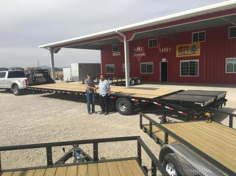 """80"""" X 7' GR Trailers Basic Truck Flat Beds @ Red Barn Trailers"""