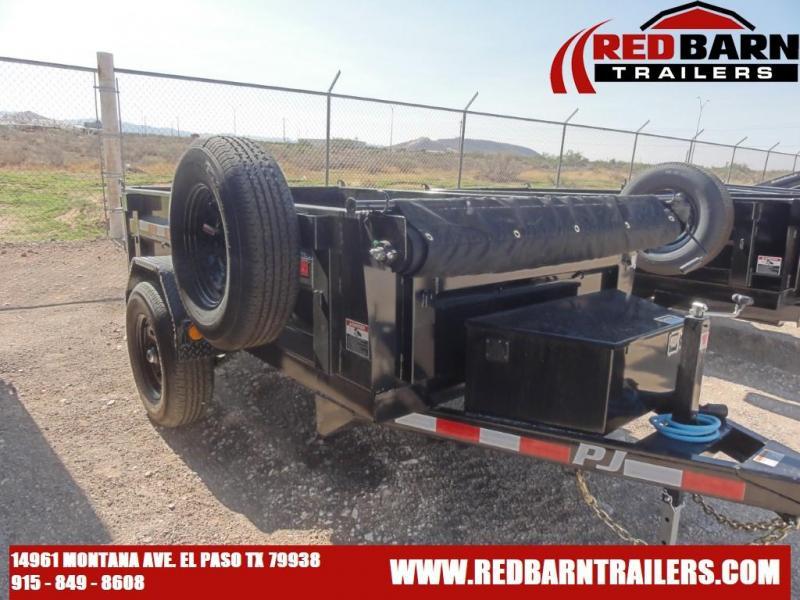 2021 PJ 5X8 DUMP Trailers D5081 - 1D121