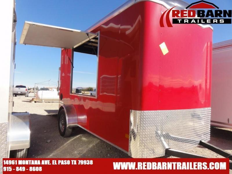 6 X 12 2021 Haulmark TS612S2 Enclosed Cargo Trailer