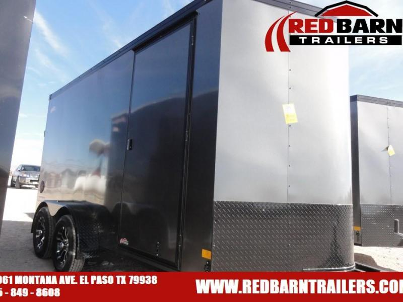 7X14 2021 HAULMARK TRANSPORT BLACKOUT Enclosed Cargo Trailer
