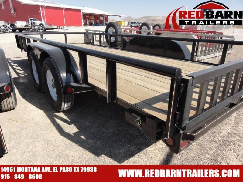 2021 GR Trailers UT7018W07L Tandem Axle Utility Trailer