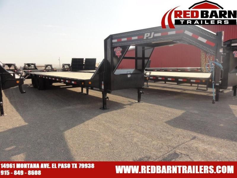 102x30 2020 PJ Trailers Low-Pro Flatdeck with Duals (LD)