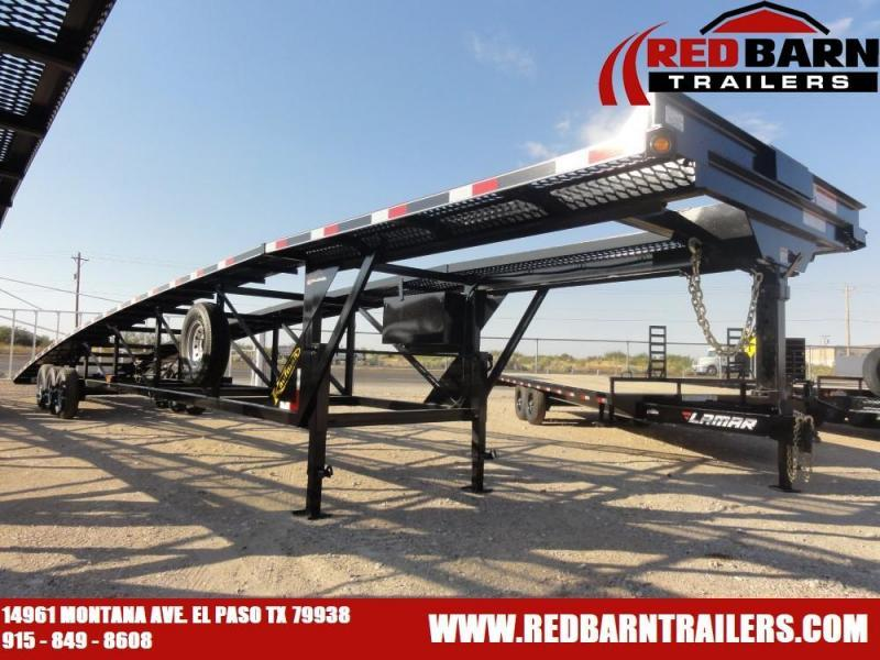 2021 Kaufman Trailers 50 ft Deluxe Triaxle Wedge Car Trailer