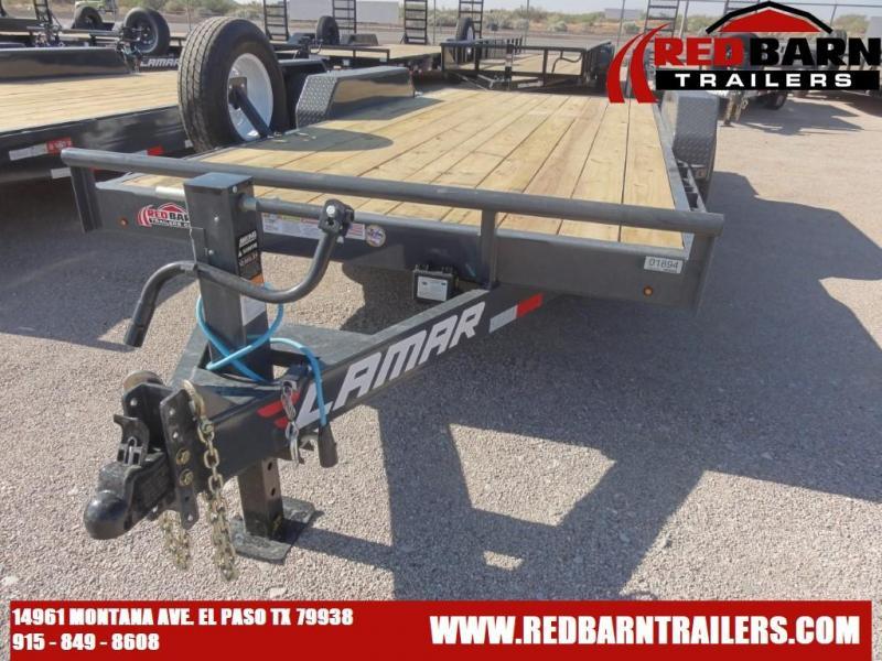 2021 LAMAR 83X16 Equipment Trailer