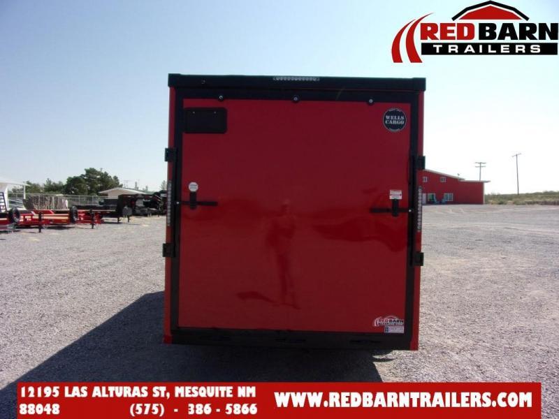 7 X 16 2022 Wells Cargo RFV716T2 PHANTOM Enclosed Cargo Trailer
