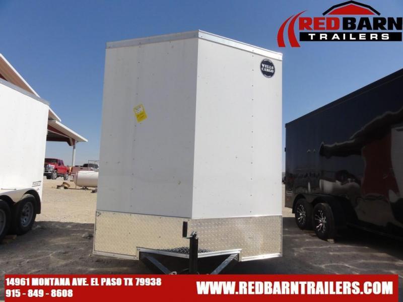 2021 Wells Cargo 6X10 FastTrac Enclosed Cargo Trailer