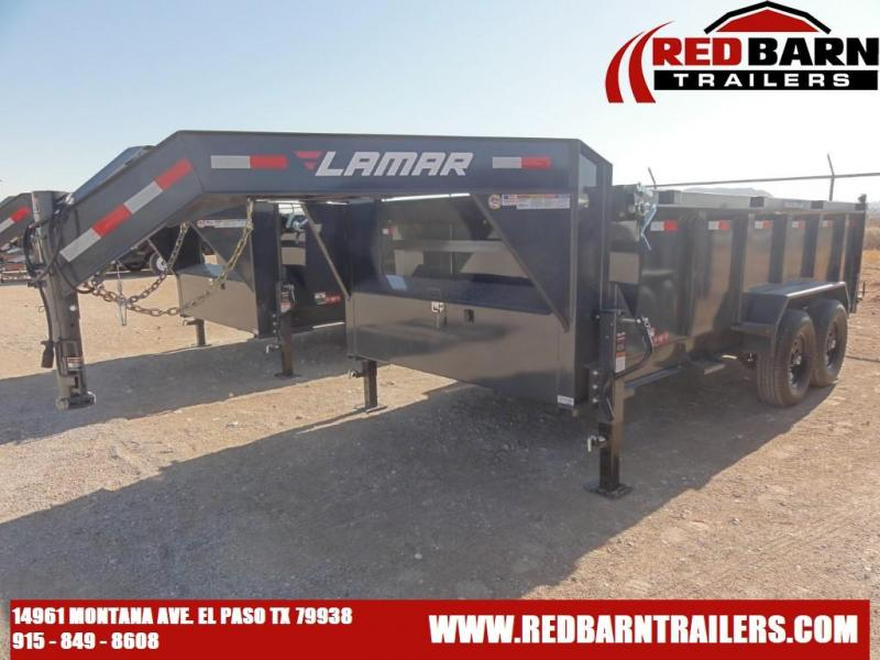 2021 Lamar 83X14 DUMP Trailers LOW-PRO DUMP Dump Trailer
