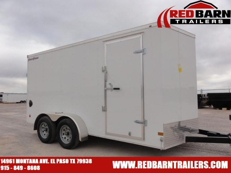 7 X 14 2021 Wells Cargo FT714T2 Enclosed Cargo Trailer