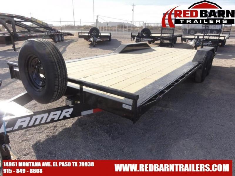 102 X 22 2021 Lamar Trailers H6022227 Equipment Trailer